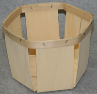 Hexagonal basket